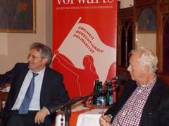 Achim Post mit Uwe-Karsten Heye