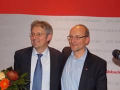 Achim Post mit dem SPD UB-Vorsitzenden Michael Buhre
